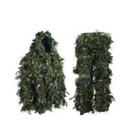 Quality Hybrid Woodland Camouflage Ghillie Suit Lightweight  Hybrid Woodland Camouflage Ghillie Hunting Suit Light for sale