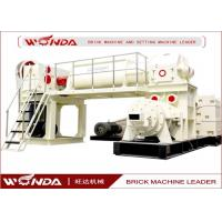 Red Sintered Clay Brick Making Machine Vacuum Extruder All Steel Material