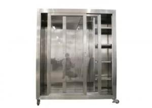 Quality Static 1500*750*1800mm Garment Cubicle Assembly / Clean Room Dress Cabinet for sale