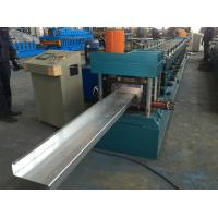 Quality Chain Drive Steel Plate Roll Stand Type Z Purlin Roll Forming Machine for sale