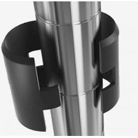 """Quality Shelving Lock Plastic Shelf Clips For 1"""" Diameter Posts , Shelving Unit Accessories for sale"""