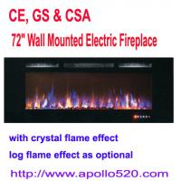 """Buy cheap 72"""" Wall Mounted Electric Fireplace from wholesalers"""