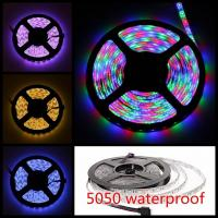 Quality 5M RGB LED Strip Light Non Waterproof SMD 5050 IP65 300 Leds LED Tape for sale
