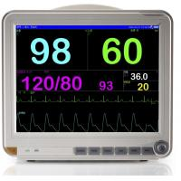Quality 15 Inch Portable Multi-parameter Patient Monitor with ECG , RESP , NIBP,TEMP,HR for sale