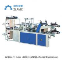 China Biodegradable Automatic Shopping Bag Making Machine Electric Heating Max Length 1200mm on sale