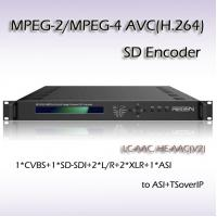 Quality Professional Video Processor Single-Channel SD Encoder IPTV System Headend RES2301 for sale