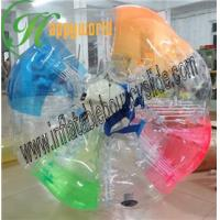 China Colored Outdoor Inflatable Bumper Ball With Humen Inside For Bubble Football Game on sale