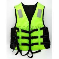 Quality Adult Green Water Sport Life Jacket PFD Inherent Buoyancy Boat Life vest for sale