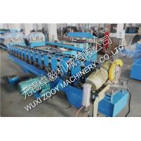 Quality 7.5KW stainless steel Shutter Door Roll Forming Machine 0.4-1.2 thickness for sale