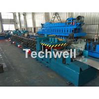 Quality Galvanized / Carbon Steel CZ Shaped Roll Forming Machine For 0-15m/min Forming Speed for sale
