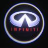 Buy cheap Infiniti emblem door logo light 12v 3w LED Door Projector Lights with car badge from wholesalers