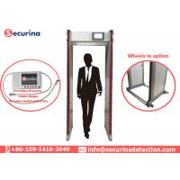 China Exhibition Railway Station Door Frame Metal Detector 33 Zones Checkpoint 50/60Hz on sale