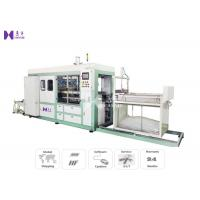 Quality Vacuum Plastic Blister Forming Machine 220-480 Times / H Pneumatically Powered Clamp Frame for sale