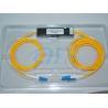 Best 1*2 LC - LC Optical Fiber Splitter , Single Mode Three Window Fused Coupler wholesale