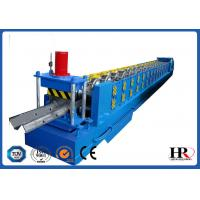 China Standard Size Highway Roadside W Beam Guardrail Roll Forming Machine on sale