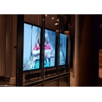 Quality Outdoor network Digital Signage Sunlight Readable 2000 Nits digital outdoor signage for window for sale