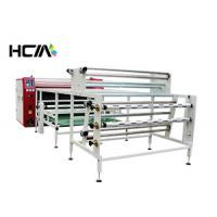Quality Scarf 1.7m Width Rotary Heat Transfer Machine Fast Speed With 800mm Drum for sale