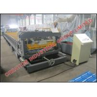 Quality High Speed Metcoppo Step Roof Tile Roll Forming Machine 220V / 380V for sale
