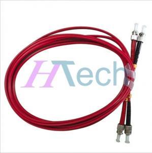 China ST/UPC-ST/UPC Multimode Duplex Fiber Optic Patch Cord G652D Fiber Optic Cable on sale