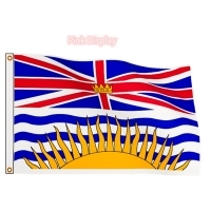 Quality Digital Printing 76x148cm Canadian Provincial Flag for sale