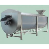 Quality SUS304 Fruit And Vegetable Processing Equipment Spiral Type Vegetable Blanching Equipment for sale