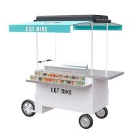 China Commercial Multipurpose Scooter Food Cart High Carbon Steel Frame 300KG Load Capacity on sale