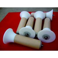 Quality UHMW-PE Cover Self Aligning Roller For Belt Conveyor Abrasion Resistant Side Guide Rollers for sale