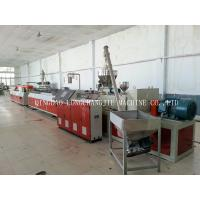 China PVC / UPVC Window Profile Extrusion Line , Twin Screw Extruder line on sale