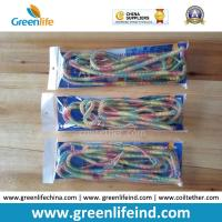 Quality Full Color Long 10Metre Fly Fishing Anti-lost Coiled Lanyard Leashes in Polybag Packing for sale