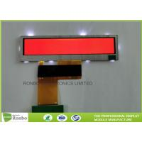 Quality Small Size Bar TFT LCD Display 3.8'' Resolution 480x76 40 Pin RGB Interface for sale