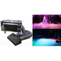 Quality DMX Control Wedding Party Stage Fog Machine 3000W Low Lying Double Pipes for sale