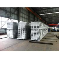 Best EPS / PU Metal Roofing Sheets Sandwich Panel Rock Wool For Wall For Roof wholesale