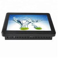 Quality Dust Proof Touch Screen Kiosk Monitor 55 Inch Complies With HID Equipment Standard for sale