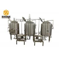 Quality 300L Pub Brewery In Line Microbrewery Brewing Equipment For Craft Beer for sale