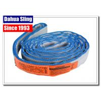 Quality Eye To Eye Flat Lifting Slings Class 5 Safety Factor OSHA And ASME Standards for sale