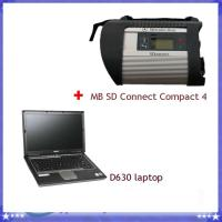 Best Mb Sd Connect Compact 4 Mercedes Star Diagnostic Tools With D630 Laptop wholesale
