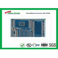 Quality PCB Fabrication And Assembly Printed Circuit Board Assemblies 6 Layer Blue Solder Mask for sale