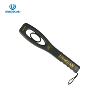 Quality Double Ring 2kHz IP31 Rechargeable Handheld Metal Scanner for sale