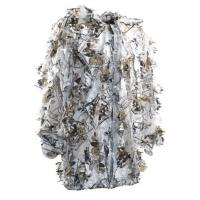 Quality Snow Camo Leafy Hunting Suit Leafy Camouflage Clothing 100% Polyester for sale