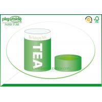 Food Grade Green Tea Tube Packaging Handmade High End Environmentally Friendly