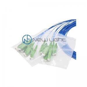 Quality OM3 10Gb Duplex UPC FTTB Optical Fibre Patch Cords for sale