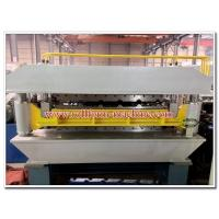 Quality Double Deck Metal Roof & Wall Panels Roll Forming Line with Automatic Electric PLC Control System for sale