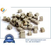 Quality High Density Tungsten Heavy Alloy Cubes Counter Weights Customized Dimensions for sale