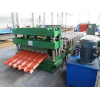 Quality 3D Cut Galvanised Steel Roof Tile Roll Forming Machine To Mexico for sale
