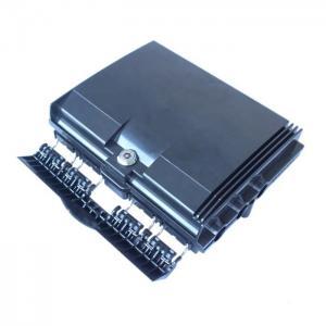 Quality 16mm Cable Diameter 8 Core Fiber Optic Terminal Box Black Colour for sale