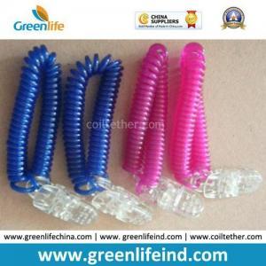 Quality Plastic Alligator Clip Wrist Band Lanyard Flex Worm Loops for sale