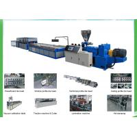 China High Capacity Extrusion making Machine , Window Sill PVC Extrusion Machine on sale