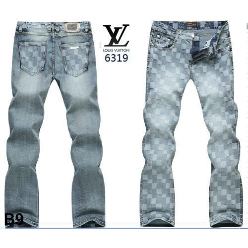 Newest louis vuitton men jeans 2014 spring design brand jean