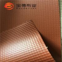 Quality PVC Coated Tarpaulin With Embossed Surface for sale