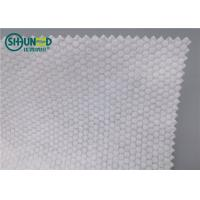 Quality Pearl Pattern Spunlace Nonwoven Fabric Polyester / Viscose Cross Lapping for sale